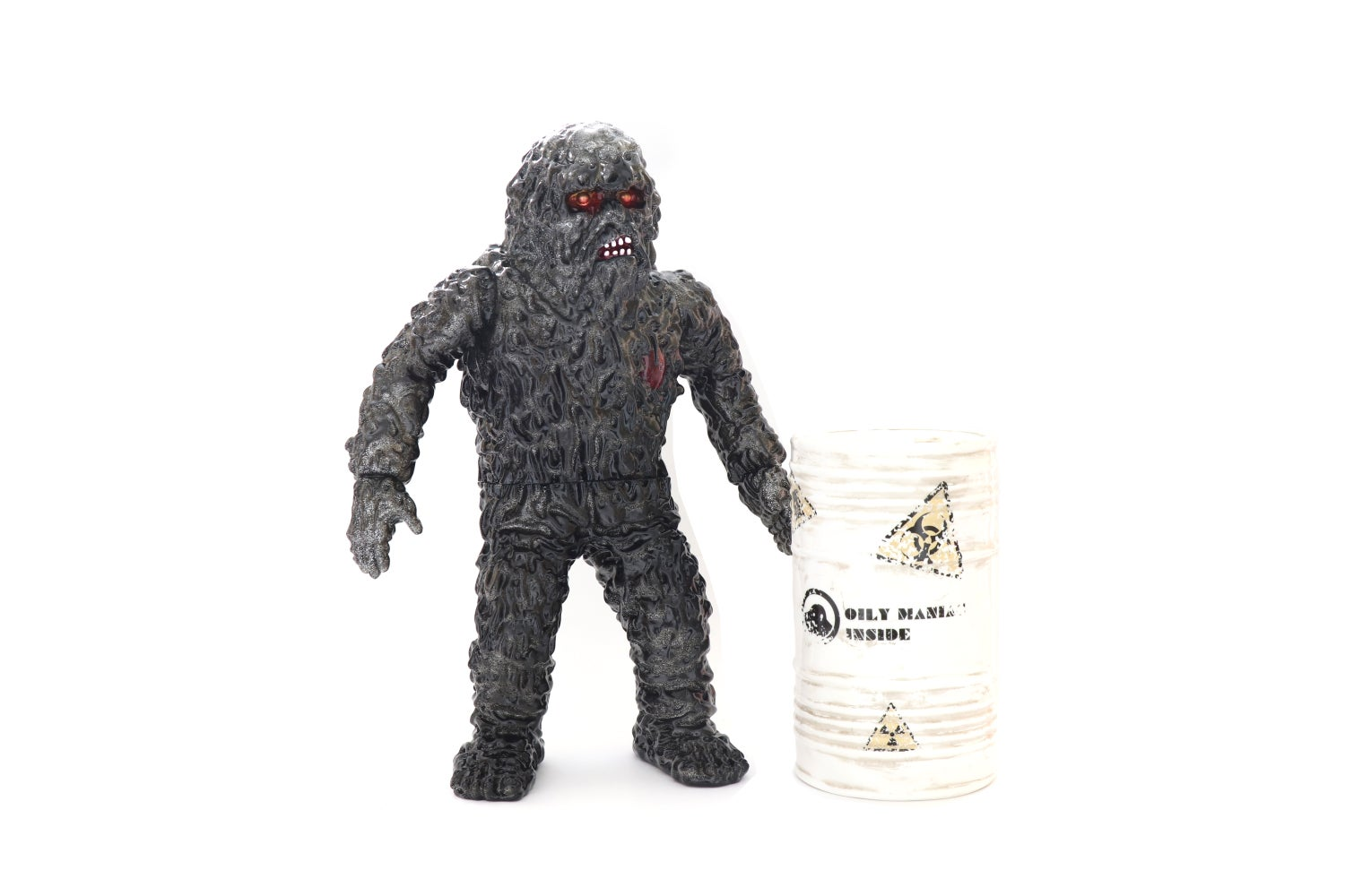 Image of THE OILY MANIAC BLACK GLITTER VARIANT