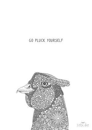 Image of Go Pluck Yourself