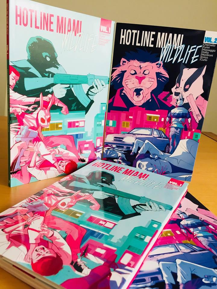 Image of Hotline Miami: Wildlife Vol.1 + Vol.2
