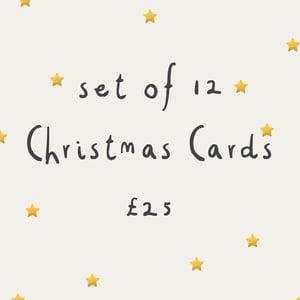 Image of Little Dot Christmas Card Set of 12