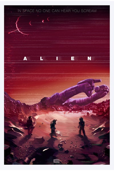 "Image of Alien - Nostromo - 24"" x 36"" Poster"
