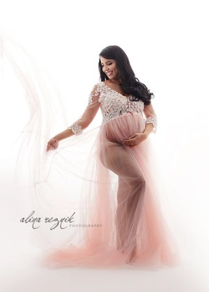 Image of Heaven maternity gown (5 COLOR CHOICES)
