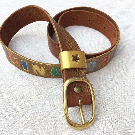 Image of ★ Hand Painted Belt