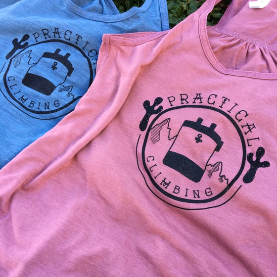 Image of Get Outside Practical Logo T's and Tanks