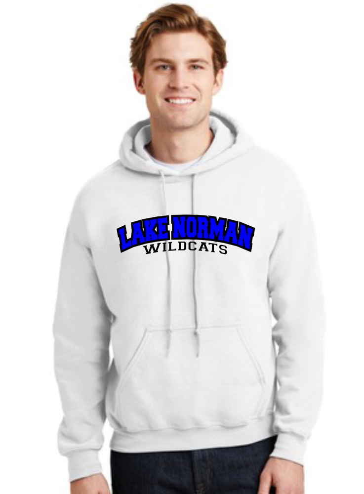 Image of Lake Norman WILDCATS Hoodie - 2 color combos to choose from!