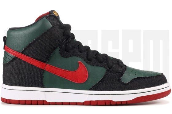 "Image of Nike DUNK HIGH PREMIUM SB ""RESN"""
