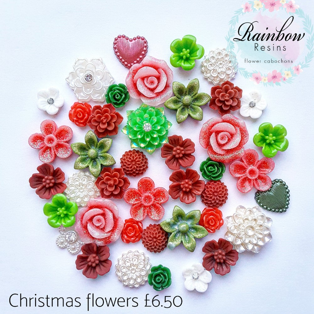 Image of Christmas flower mix