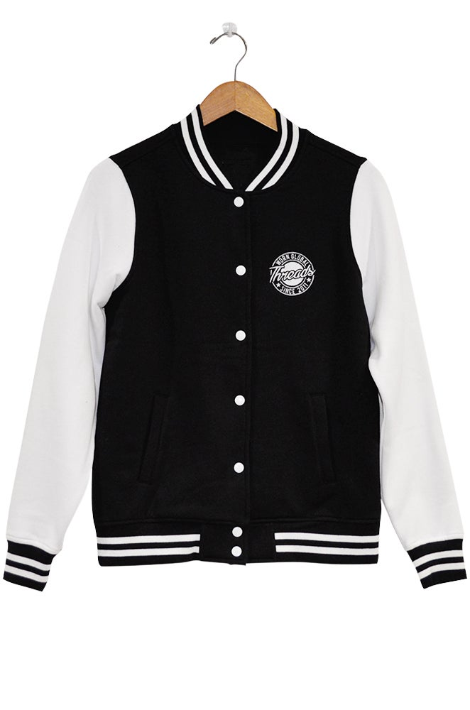 Image of THREADS Women's Letterman Style Jacket