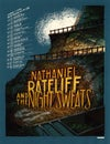 "Nathaniel Rateliff & The Night Sweats (Sept/Oct 2018 Tour) • L.E. Official Poster (18"" x 24"")"