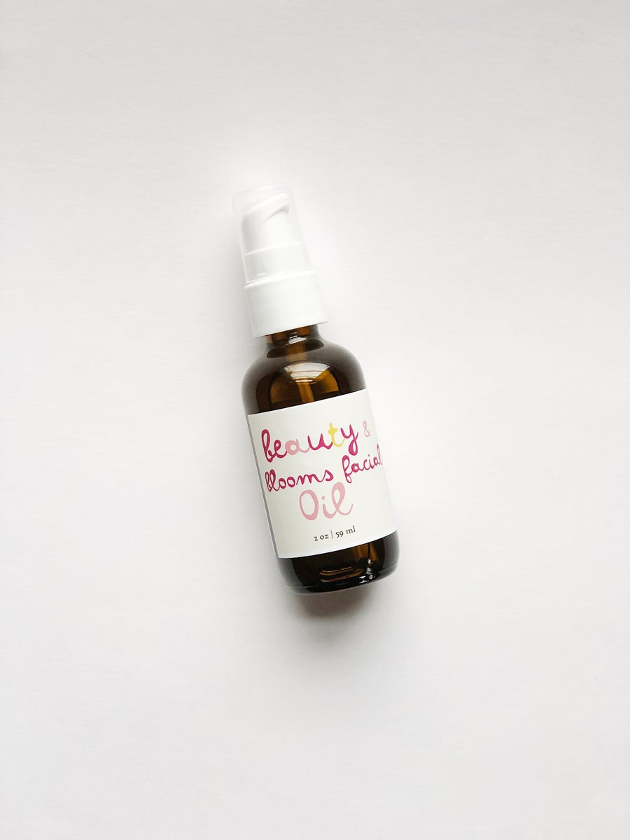 Image of :BEAUTY + BLOOMS: nourishing facial oil