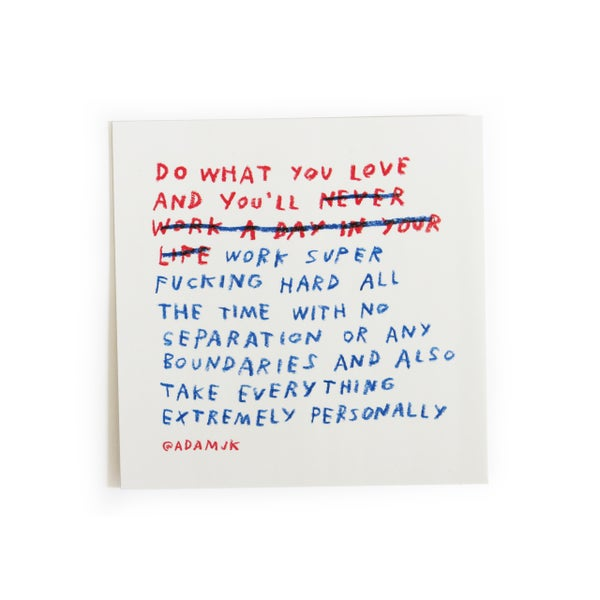 Image of DO WHAT YOU LOVE Stickers