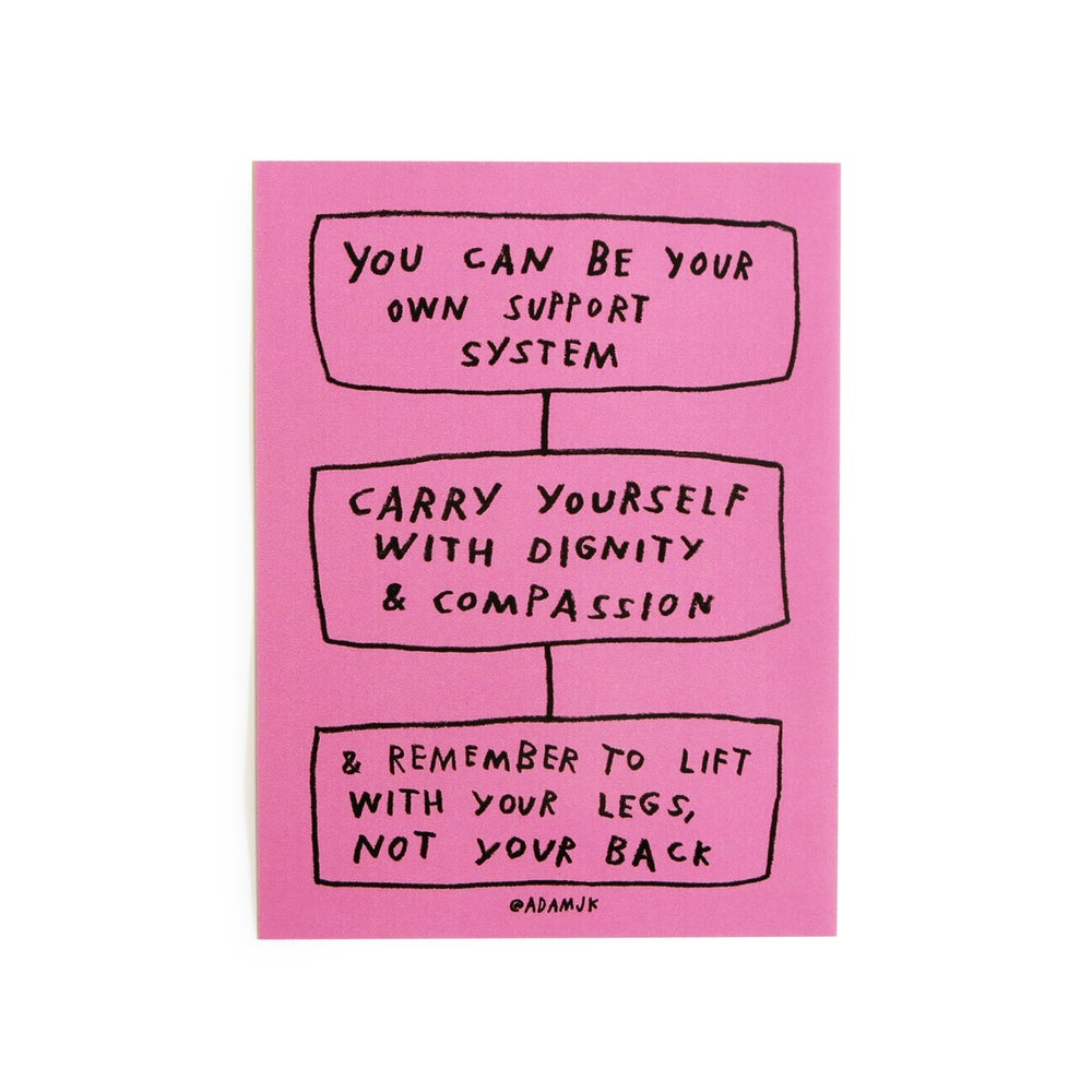 Image of Carry Yourself Stickers