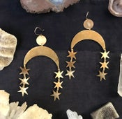 Image of Star Fall Earrings