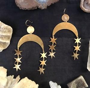 Image of Star Fall Earrings