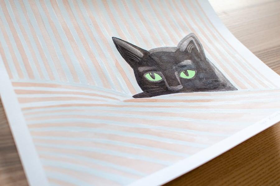 Image of custom illustration // Portrait