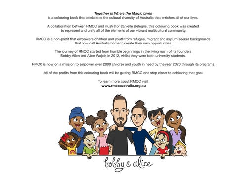 Image of 'Together is Where the Magic Lives' Colouring Book