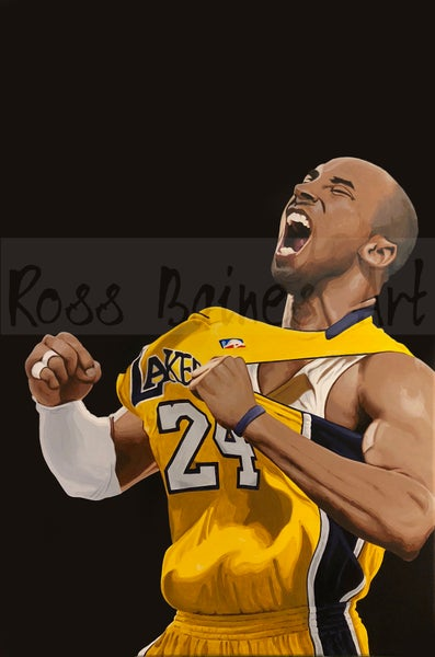 Image of KOBE (3x2ft canvas print)