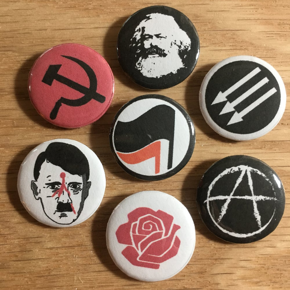 Image of Left Icons Pin Pack