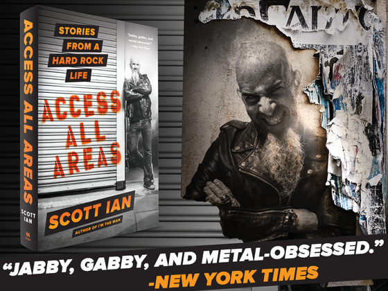 Image of Access All Areas - Hardcover Signed.
