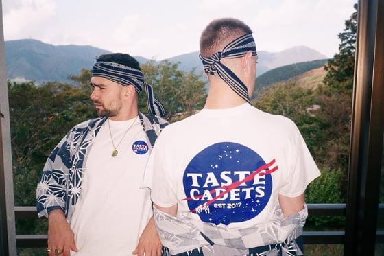 Image of Taste Cadets OG Logo T-shirt (White)