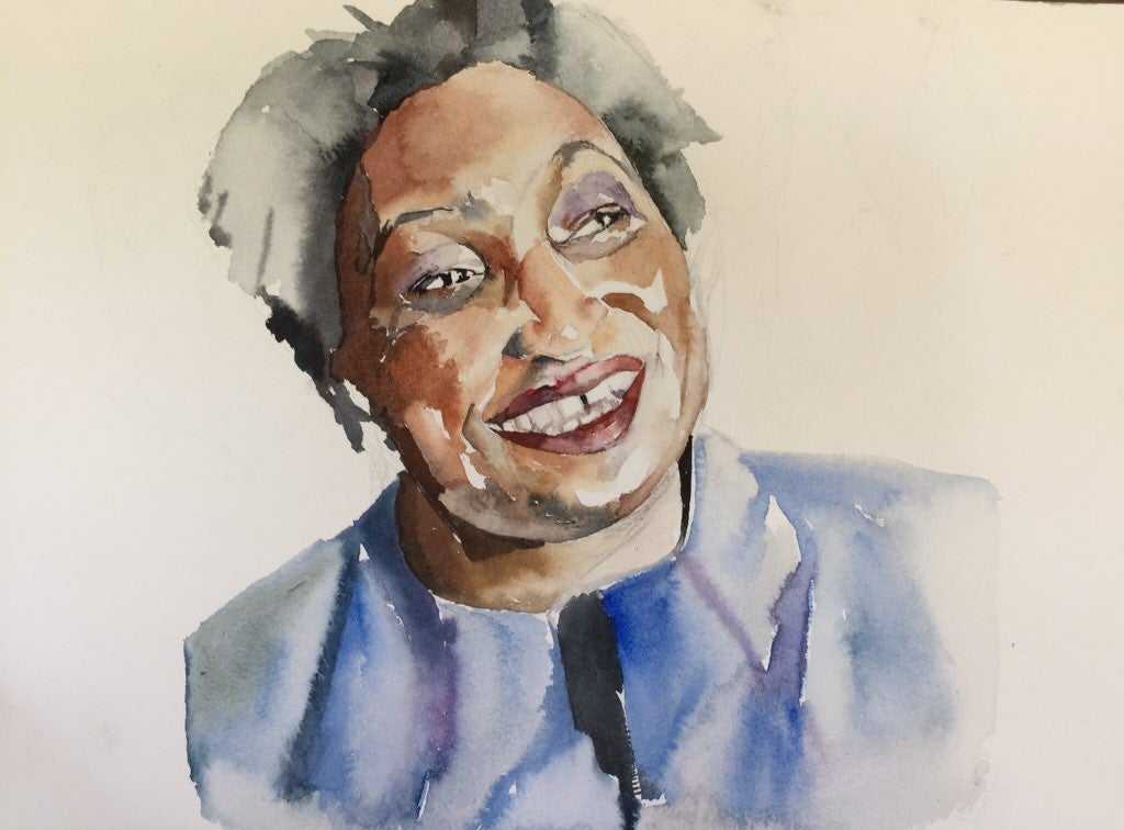 Image of Stacey Abrams - Print