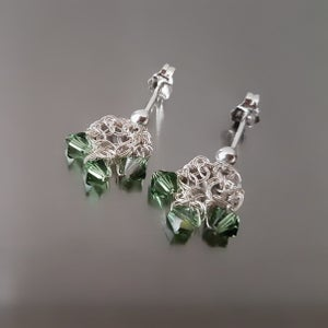 Image of SILVER DEWDROP Earrings