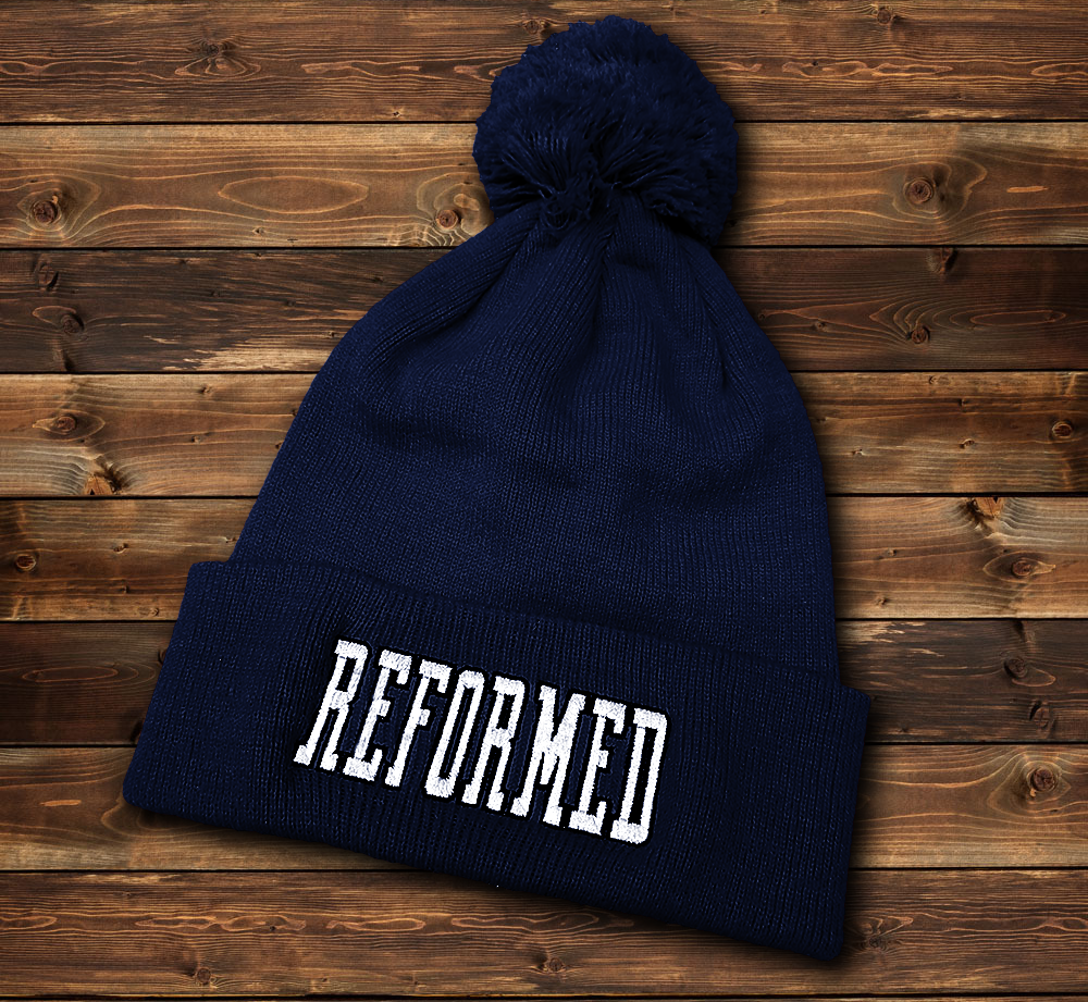 Image of Reformed Beanie - Navy