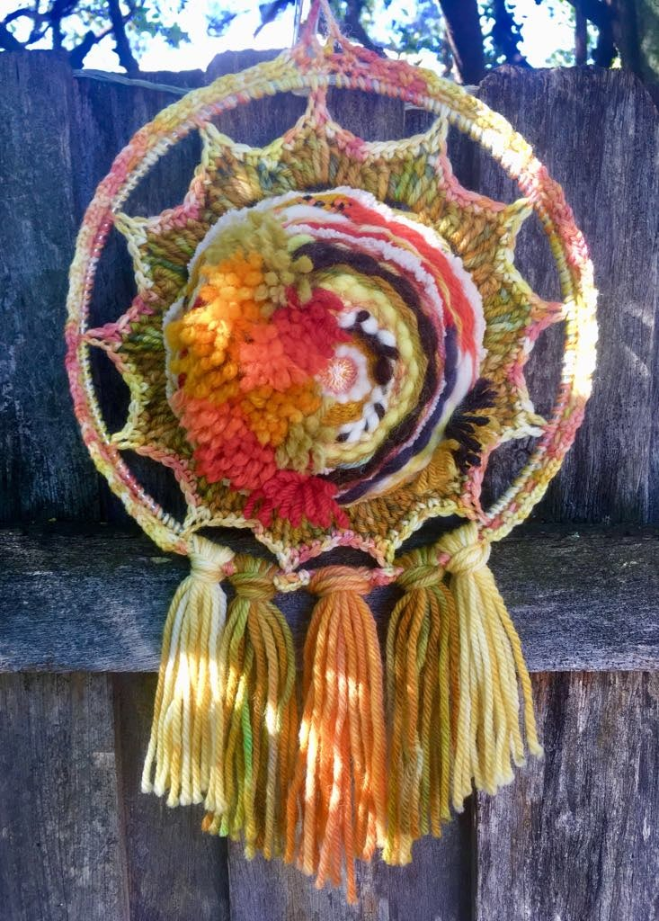 Outback Sunrise Woven Wall Hanging