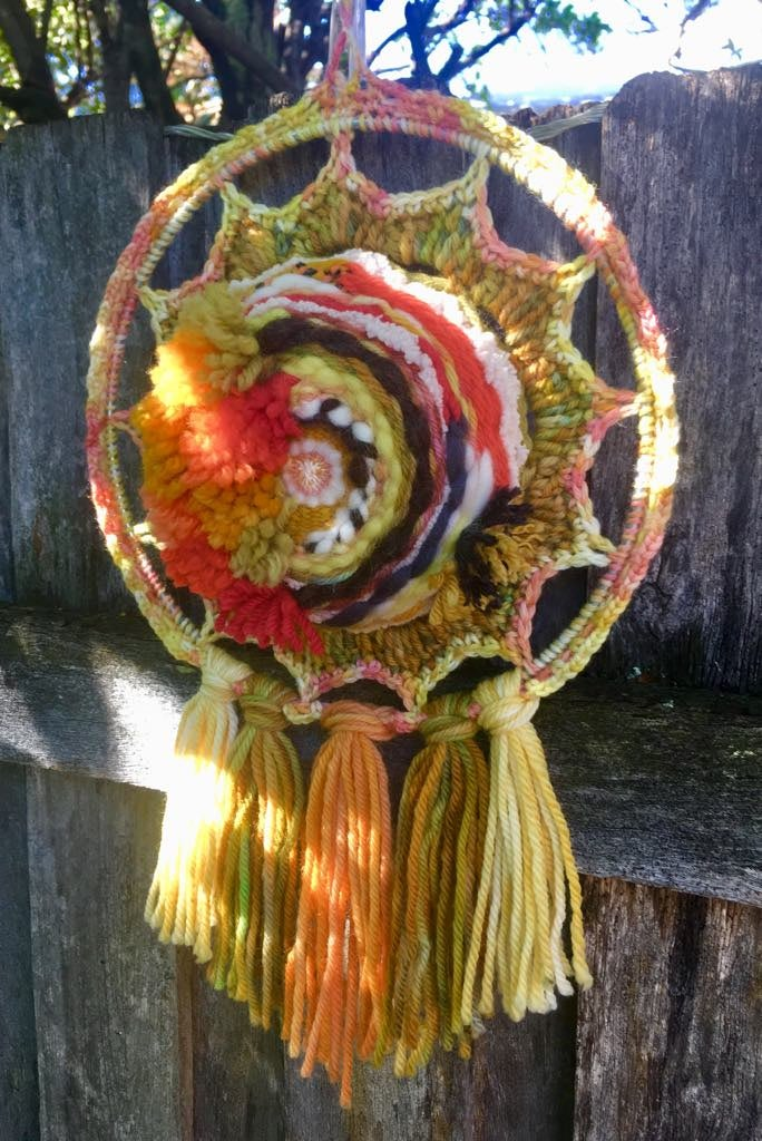 Image of Outback Sunrise Woven Wall Hanging