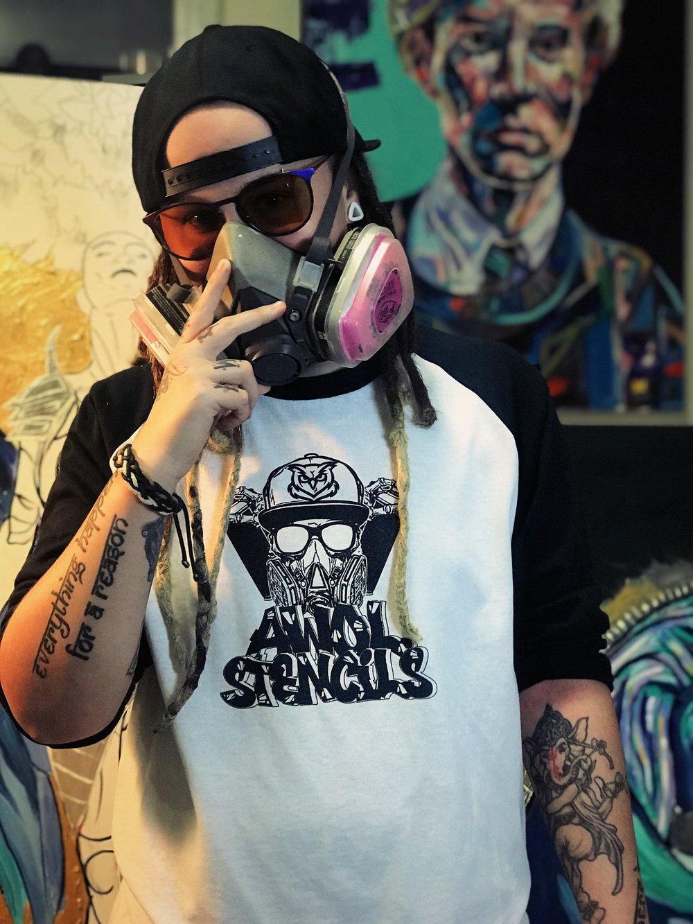 AWOL Stencils Shirt