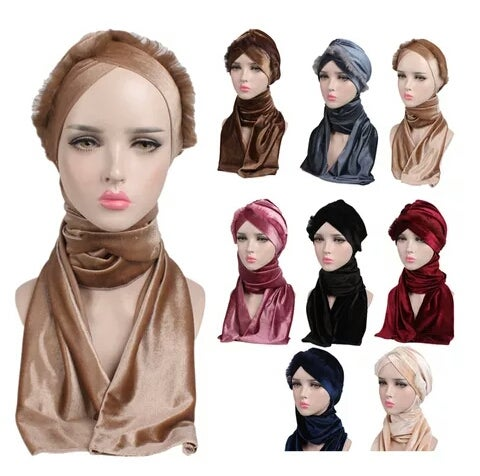Image of Da Multifunctional Velvet Turban