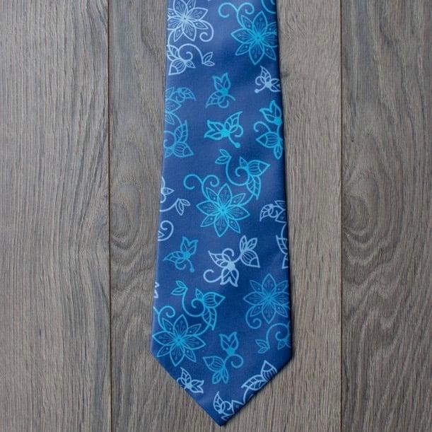 Image of Azure Water Necktie