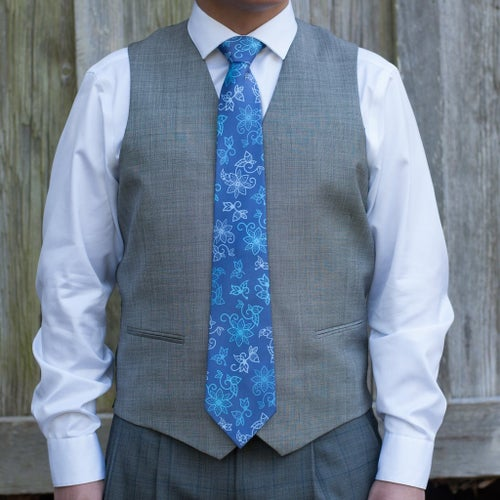 Image of Azure Water Necktie