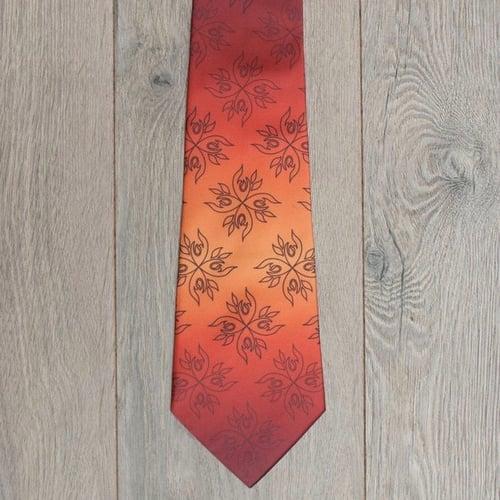 Image of Gradient Fire Necktie