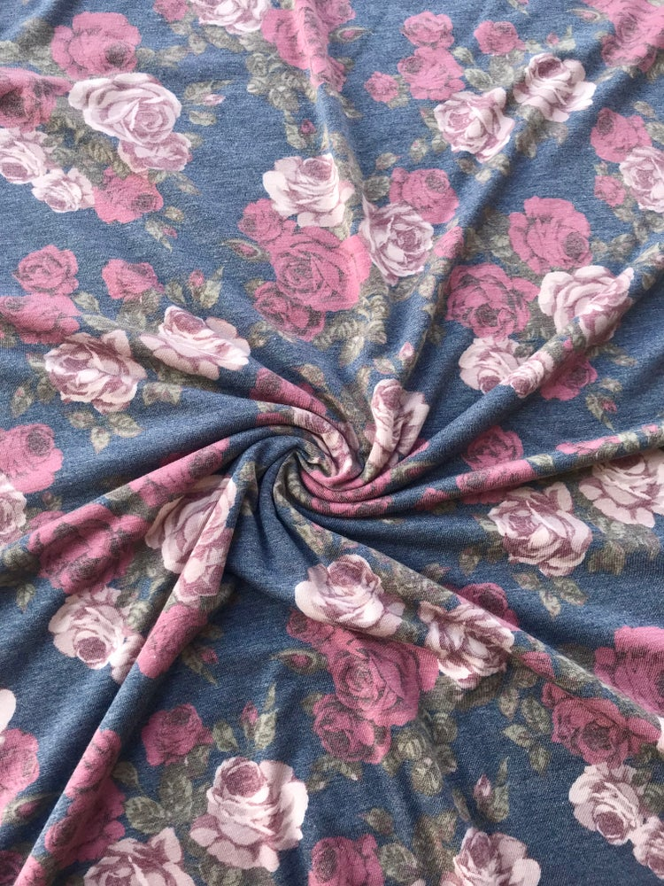 Image of Rustic Roses Rayon