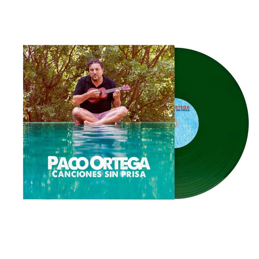 Image of Vinilo. Canciones sin prisa. Edición especial, numerados y firmados por Paco Ortega