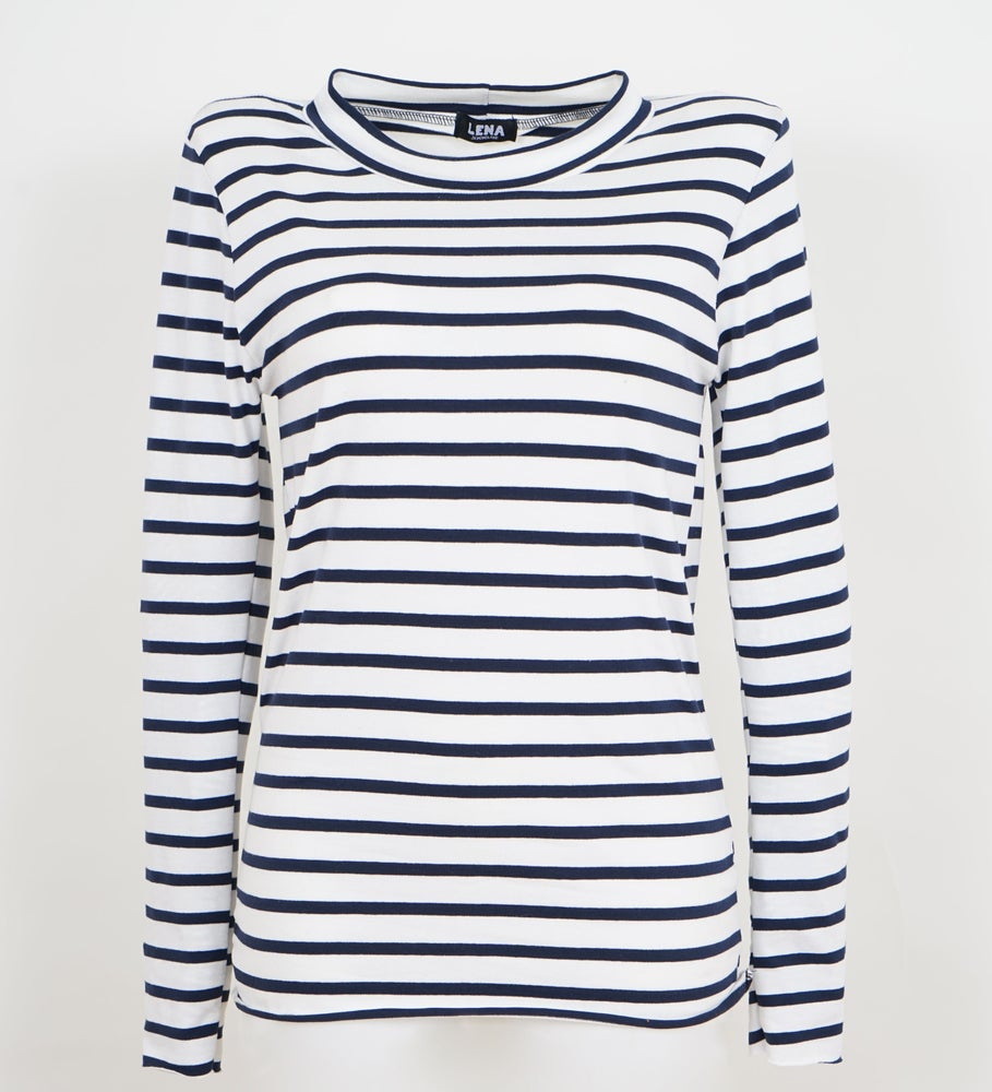 Image of Longsleeve navy Stripes