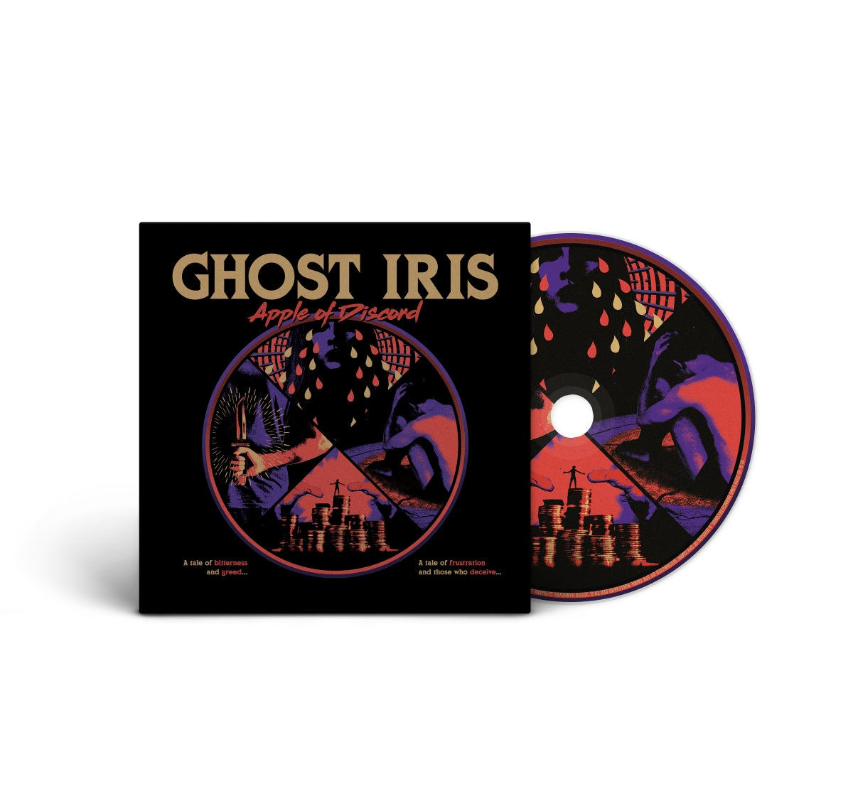 "Image of Ghost Iris ""Apple Of Discord"" CD"