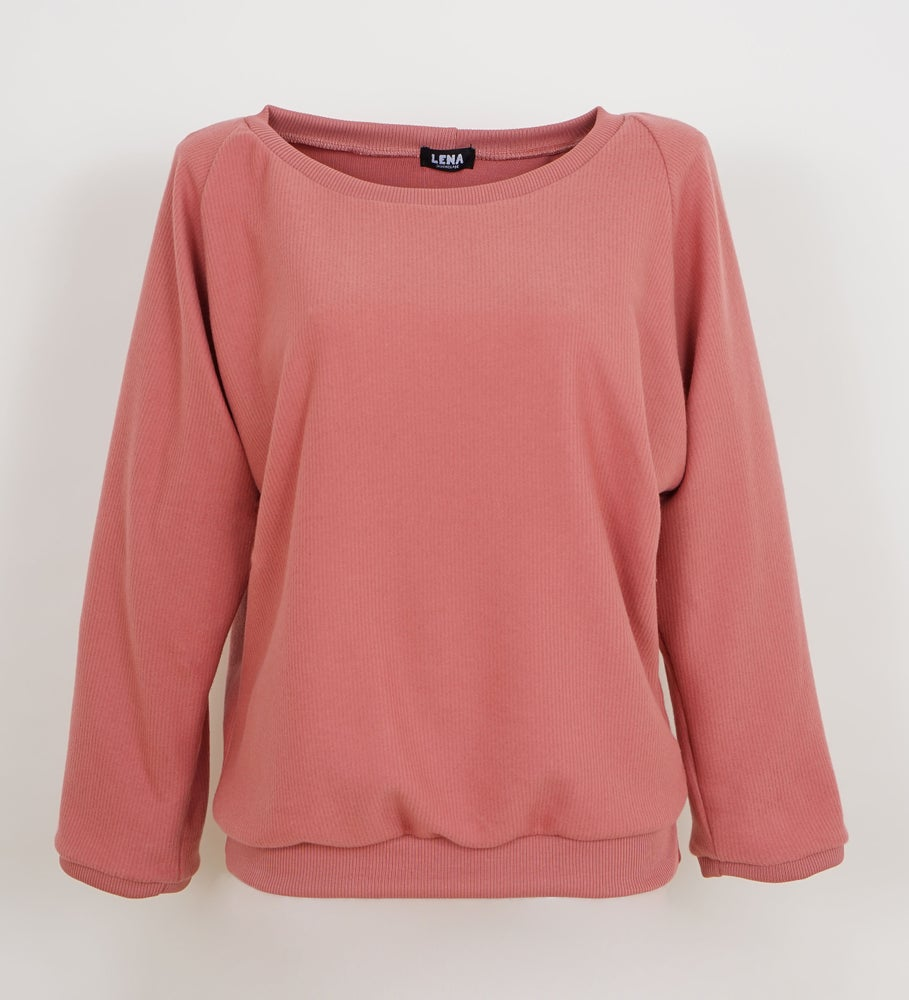 Image of Cord Sweat Pullover rosenholz