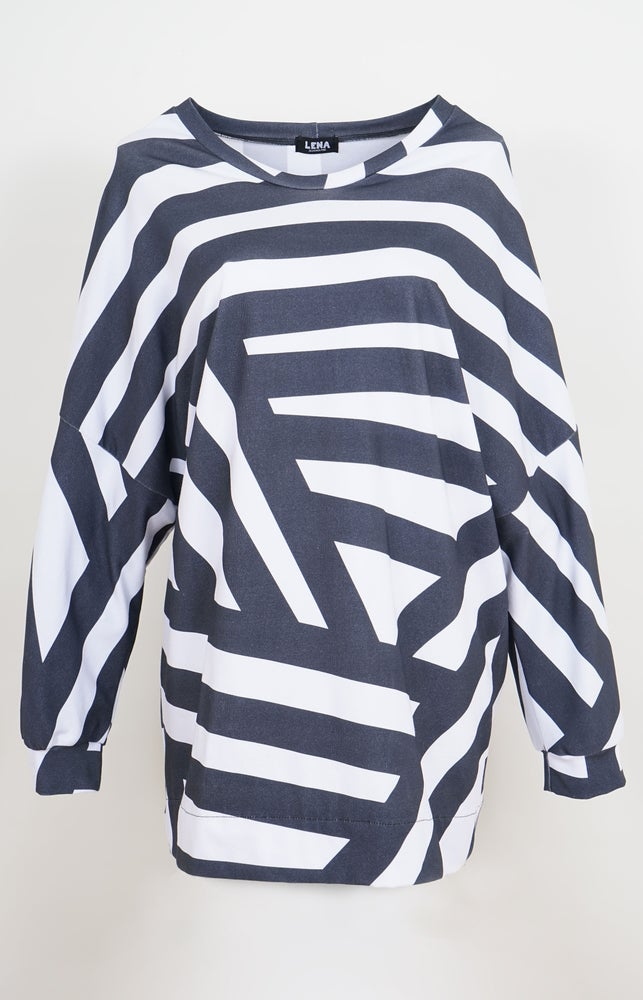 Image of Sweater Allover stripes