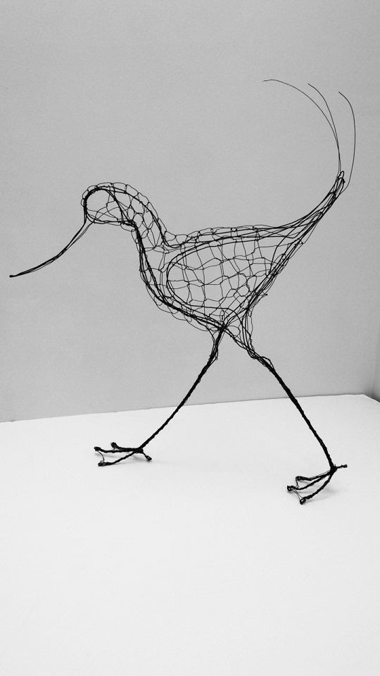 Avocet Wire Sculpture