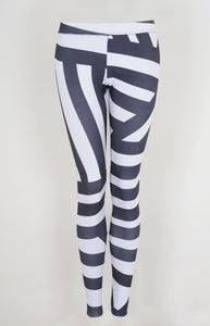 Image of Leggings Allover Stipes