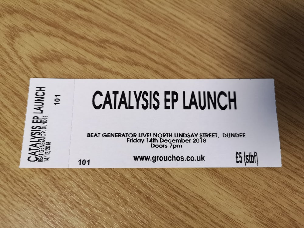 Image of Catalysis EP Launch ticket