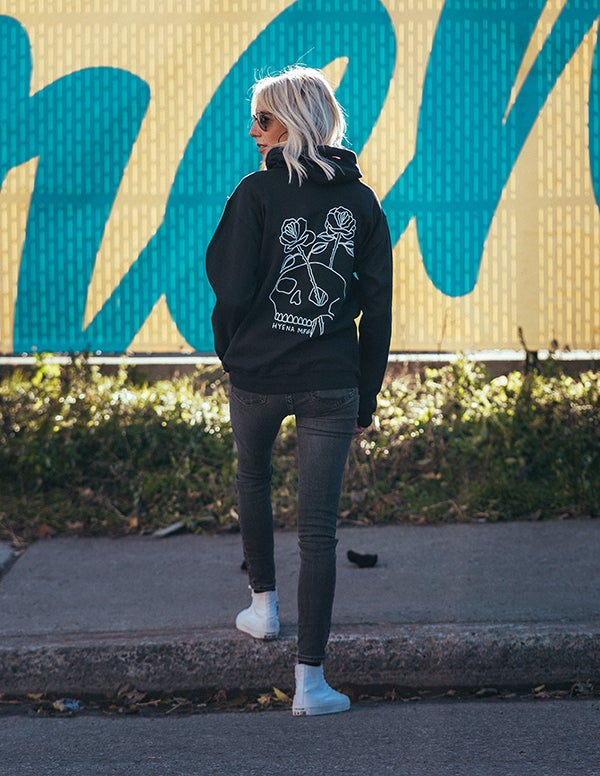 Image of Skull and Roses Women's Hoodie