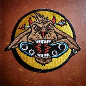 Image of Booga Tankbuster Division Patch (with Tank Girl print!)