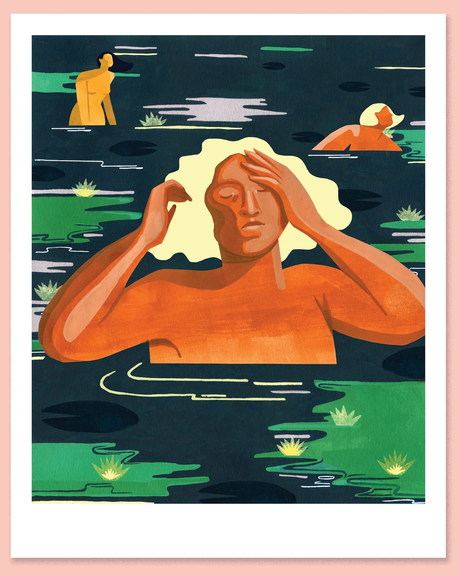 Image of 'Bathe' giclée print