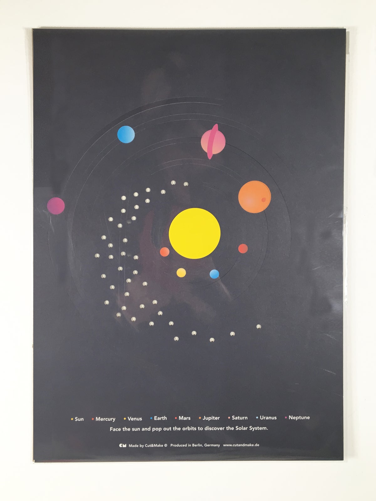 Image of Solar System Poster
