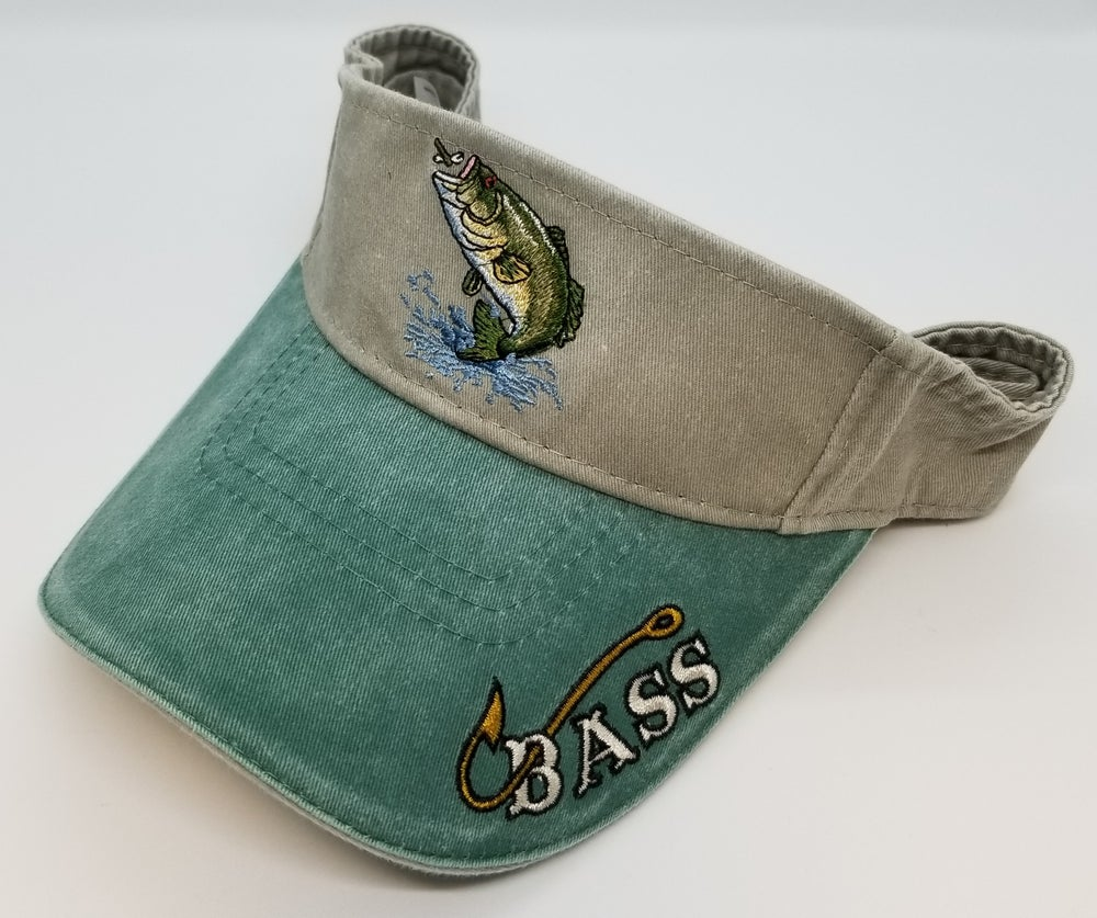 Image of Just Hook 'Em Bass Visor