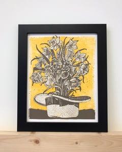 Image of Gardening Hat Print
