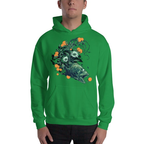 Image of Orange Fish Hoodie